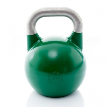 Muscle Power Competition Kettlebell Groen 24 KG MP1302