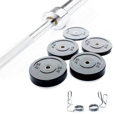 Muscle Power Complete Crossfit Halterset 120 kg