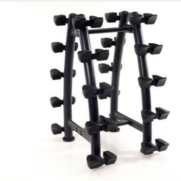 Muscle Power Dumbbellrek verticaal voor 10 sets dumbells