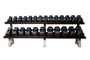 Muscle Power Dumbbelrek heavy 2-laags
