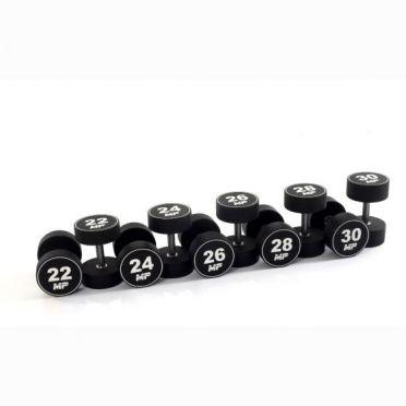 Muscle Power dumbbellset urethaan 22 - 30 kg