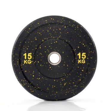 Muscle Power 50mm Hi Temp bumper plate 15 kg