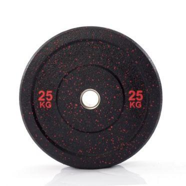 Muscle Power 50mm Hi Temp bumper plate 25 kg