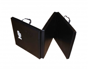 Muscle Power Tri Fold Mat Zwart MP1456