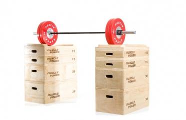 Muscle Power Houten Jerk Blocks MP1059