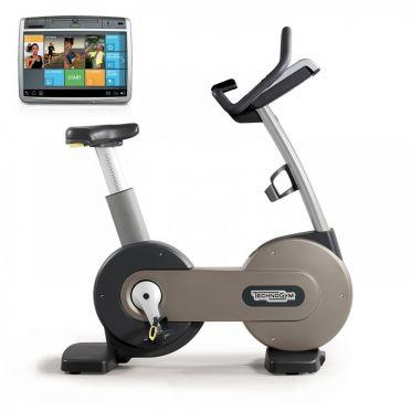 TechnoGym hometrainer Excite+ New Bike 700 Unity zilver gebruikt