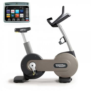 TechnoGym hometrainer Bike Excite+ 700 Visioweb zilver gebruikt