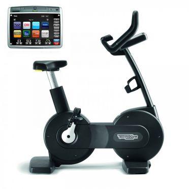 TechnoGym hometrainer Bike Excite+ 700 Visioweb zwart gebruikt