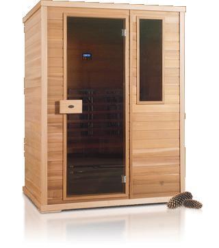 Nobel infrarood saunacabine 150
