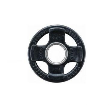 Body-Solid Olympische halterschijf rubber 1.25 kg