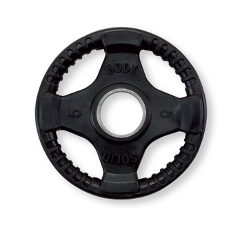 Body-Solid Olympische halterschijf rubber 5 kg