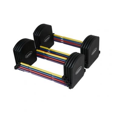 PowerBlock Flex U90 Stage II uitbreidingsset (22 - 40,8 kg per paar)