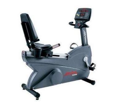 Life Fitness ligfiets 9500HR Next generation gebruikt