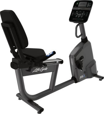 Life Fitness ligfiets RS1 recumbent Track Connect demo