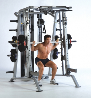 Tuff Stuff Smith Machine RSM-625WS Half Cage Ensemble