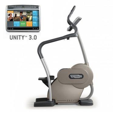TechnoGym stepper Excite+ Step 700 Unity 3.0 zilver gebruikt