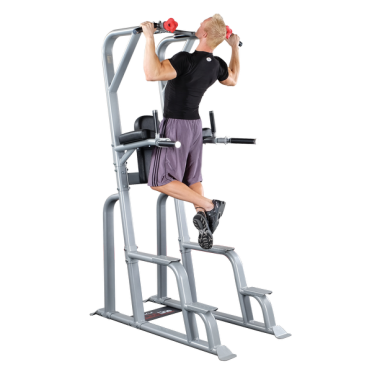 Body-Solid Pro Clubline vertical knee raise power tower