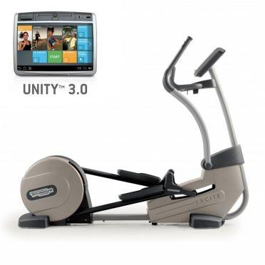 TechnoGym crosstrainer Excite+ Synchro 700 Unity 3.0 zilver gebruikt