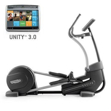 TechnoGym crosstrainer Excite+ Synchro 700 Unity 3.0 zwart gebruikt