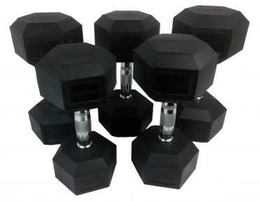 Tunturi Hexa Dumbellset 12-20 kg