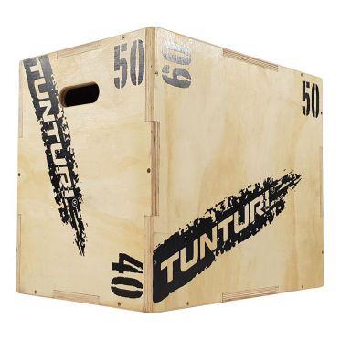 Tunturi Houten Plyo Box 40-50-60 cm
