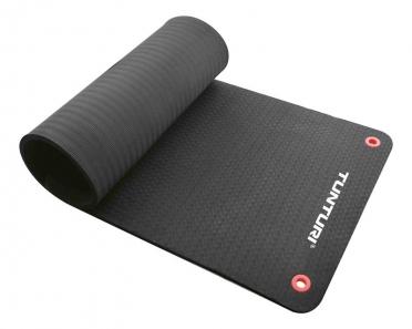 Tunturi Professionele fitnessmat zwart 180cm