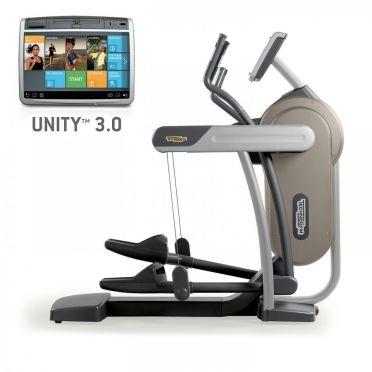 TechnoGym crosstrainer Excite+ Vario 700 Unity 3.0 zilver gebruikt