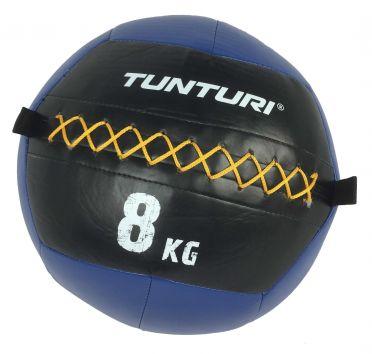 Tunturi Wall ball 8kg blauw