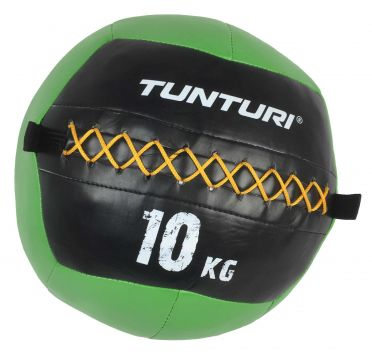 Tunturi Wall ball 10kg groen
