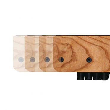 Waterrower XL rails natural essenhout