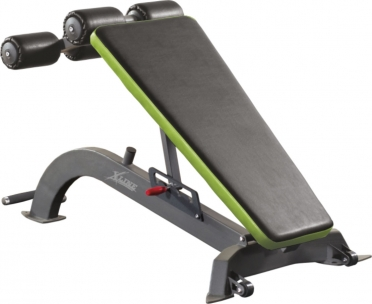 X-Line abdominal bench adjustable