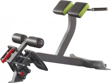 X-Line hyperextension angled rugtrainer