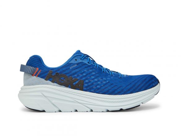 Hoka One One Rincon hardloopschoenen blauw/grijs heren  1102874-IBWB