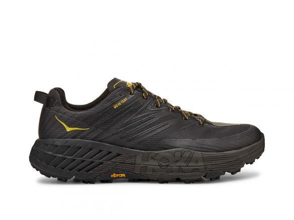 Hoka One One Speedgoat 4 GTX trail hardloopschoenen zwart heren  1106530-ADGG