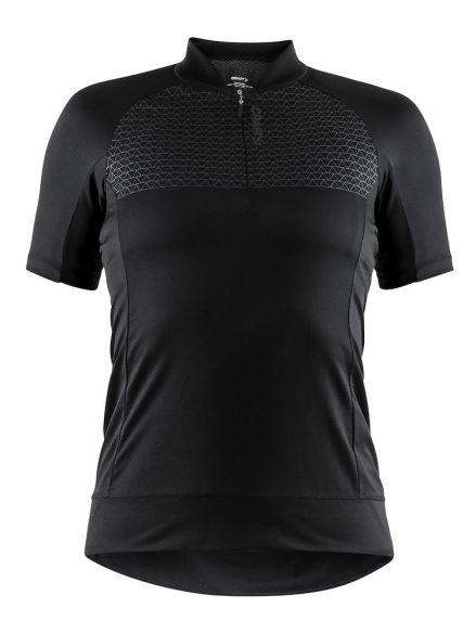 Craft Rise fietsshirt zwart dames  1906075-999000