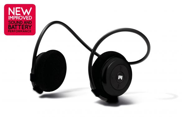 Miiego AL3+ Freedom draadloze Bluetooth hoofdtelefoon zwart  11036