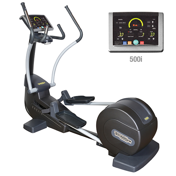 TechnoGym crosstrainer Synchro Excite+ 500i zwart gebruikt  BBTGSE500IZW