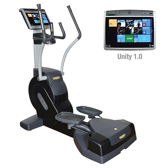TechnoGym lateral trainer Excite+ Crossover 700 Unity zwart gebruikt  BBTGEC700UZW