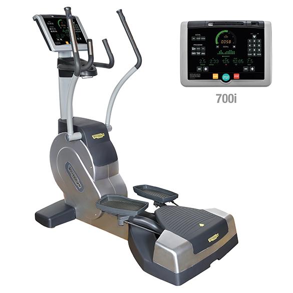 TechnoGym lateral trainer Crossover Excite+ 700i zilver gebruikt  BBTGCE700IZI