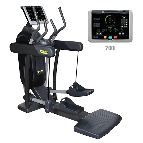 TechnoGym crosstrainer Vario Excite+ 700i zwart gebruikt  BBTGVE700IZW