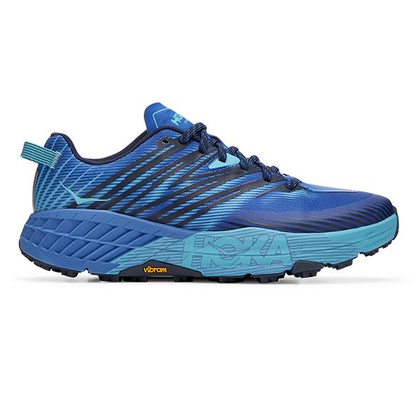 Hoka One One Speedgoat 4 trail hardloopschoenen blauw heren  1106525-TSSB