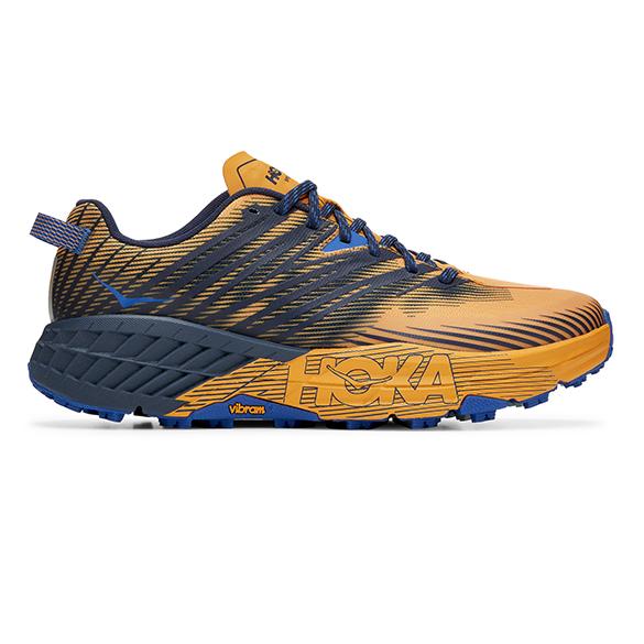 Hoka One One Speedgoat 4 trail hardloopschoenen oranje heren  1106525-SBIS