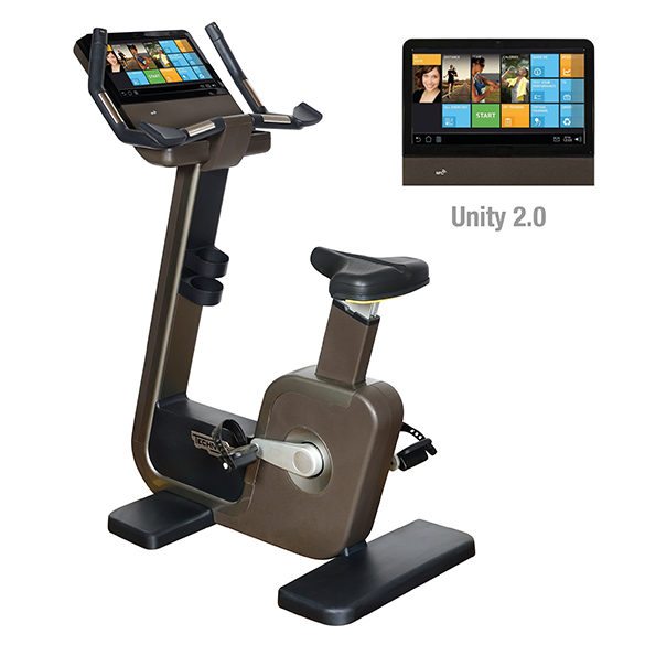 TechnoGym hometrainer Artis Bike Unity 3.0 gebruikt  BBTGABU3