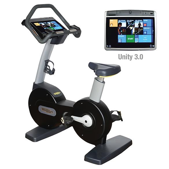 TechnoGym hometrainer Excite+ New Bike 700 Unity 3.0 zwart gebruikt  BBTGENB700U3ZW