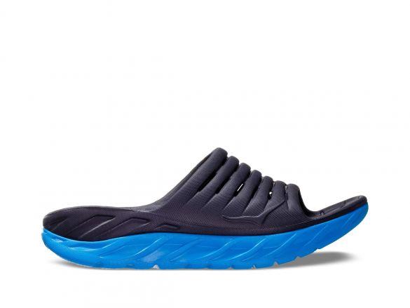 Hoka One One ORA Recovery Slide slippers blue heren  1099673-EDNB