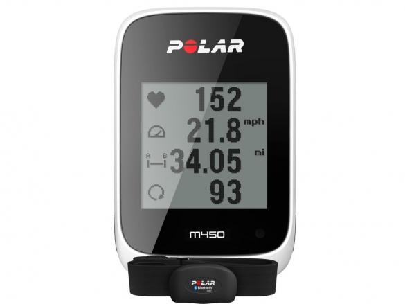 Polar M450 GPS fietscomputer HR  90055544