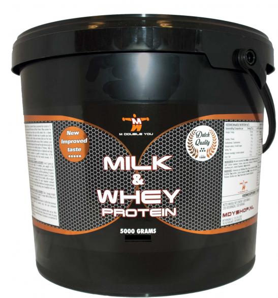 M Double You milk & whey protein chocolade 5000 gram  MDYM&WCHO5000