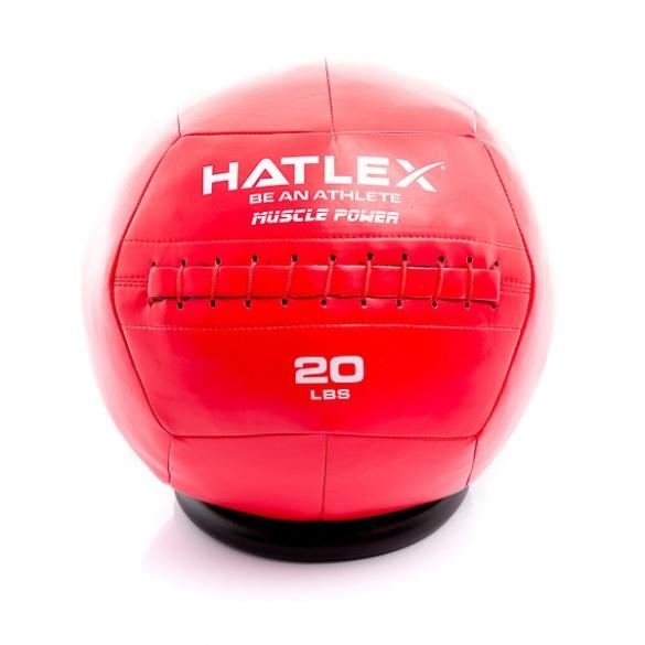 Muscle Power Hatlex Wall Ball 20 lbs MP1007  MP1007-20lbs