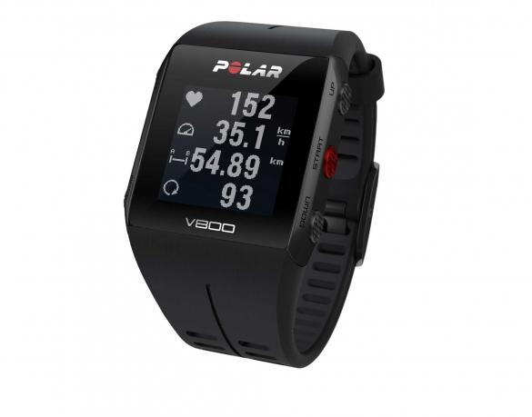 Polar V800 GPS sporthorloge met hartslagsensor zwart  PV800zwart