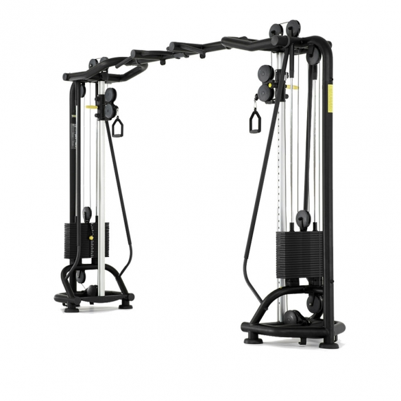 Technogym Cable Station Crossover Cables Element+ demo  MB93demo
